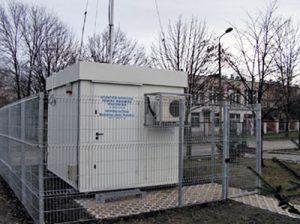 kontenery pomiarowe powietrza