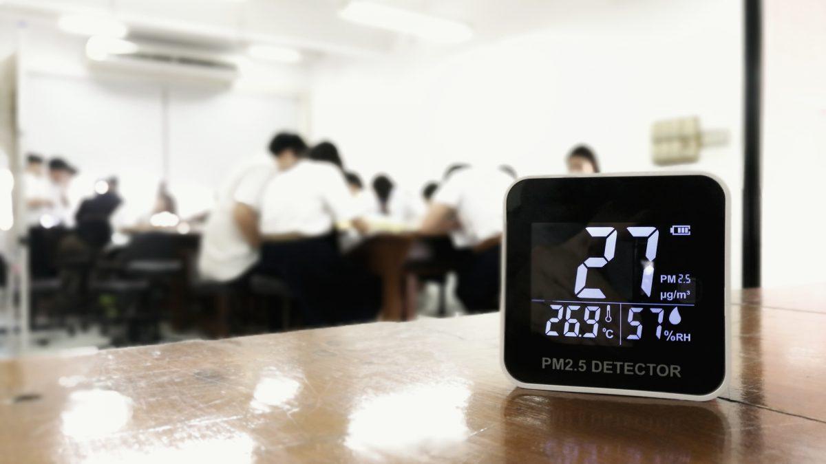 monitorowanie powietrza